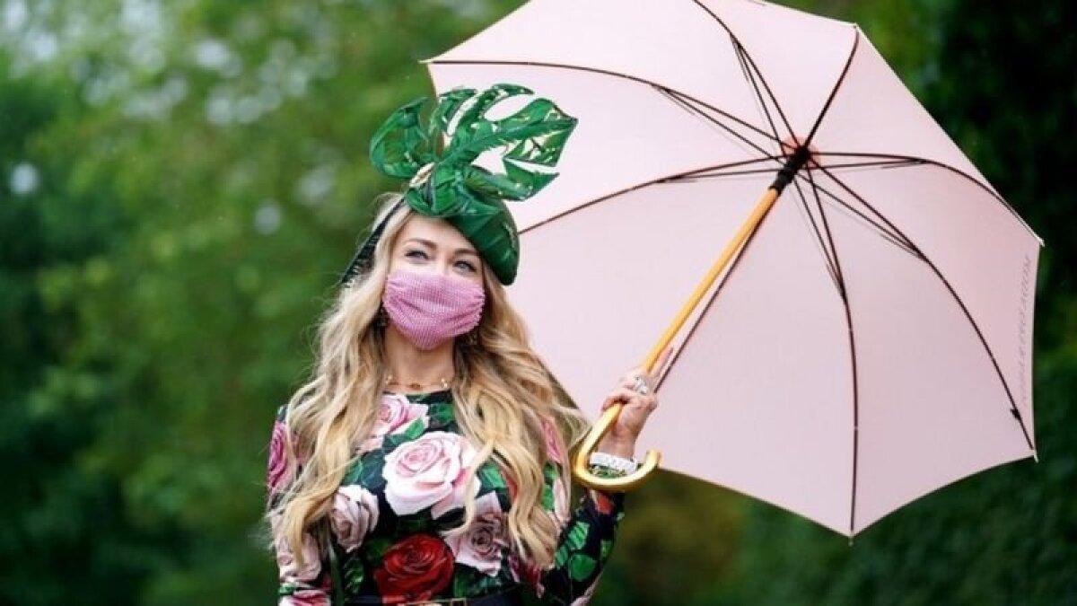 Розовый и зеленый - прекрасная летняя комбинация наряда и средств персональной зашиты