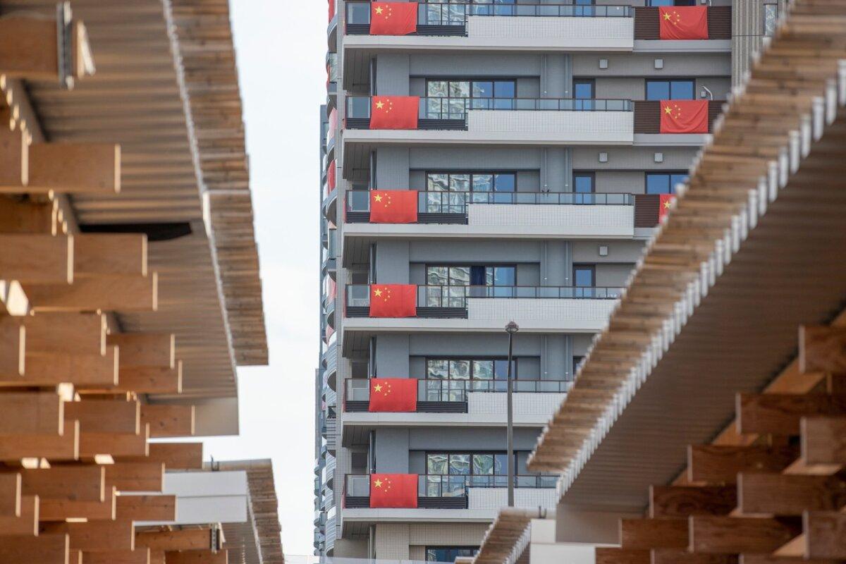 Kuus korrust olümpiakülas ainult hiinlaste päralt.