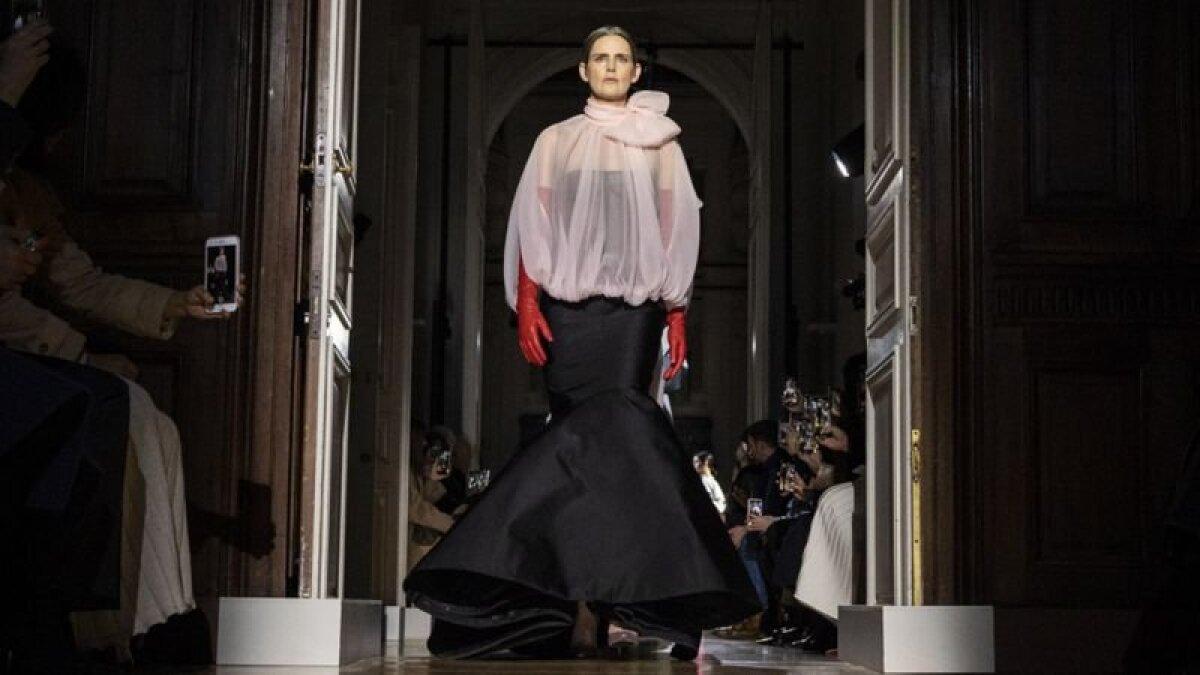 Стелла Теннант на показе весенне-летней коллекции Valentino, 2020 год