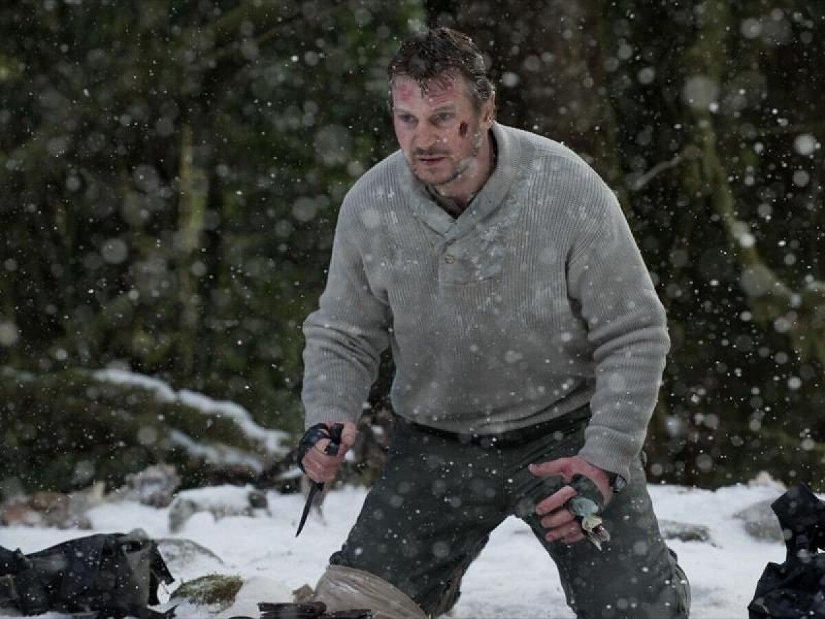 "Liam Neeson filmis ""Lumevangid"""