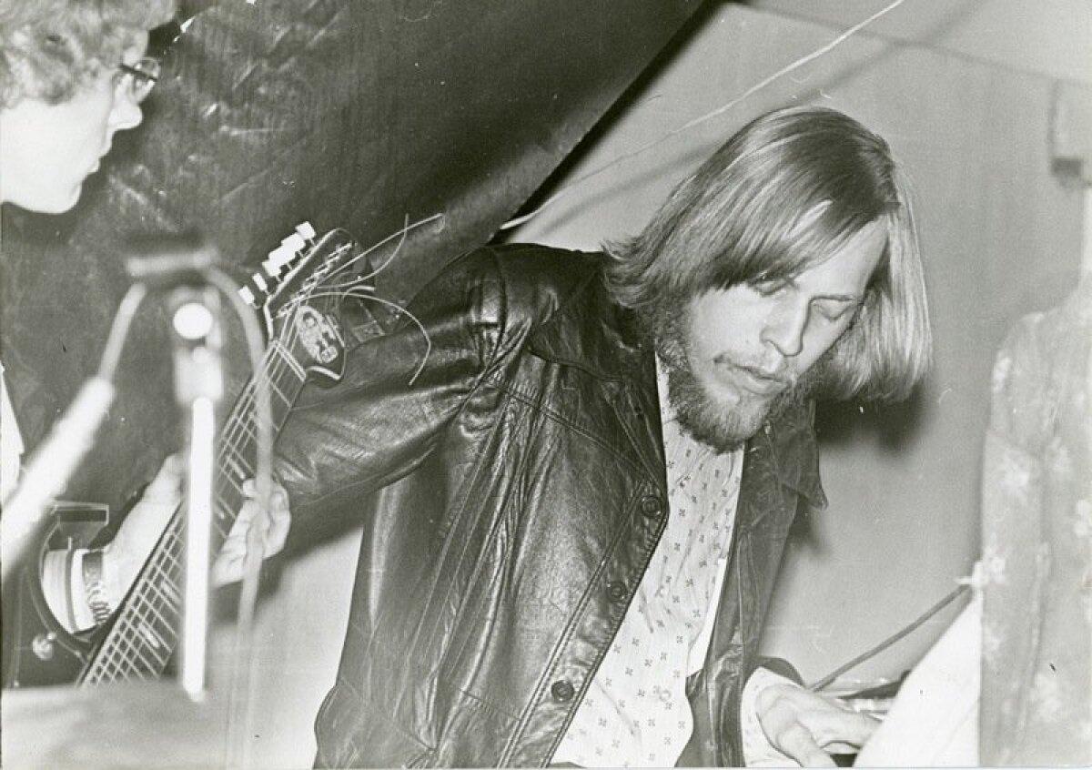 Rein Rannap. Tartu levimuusikapäevad '79 jämm Tartu Ülikooli kohvikus