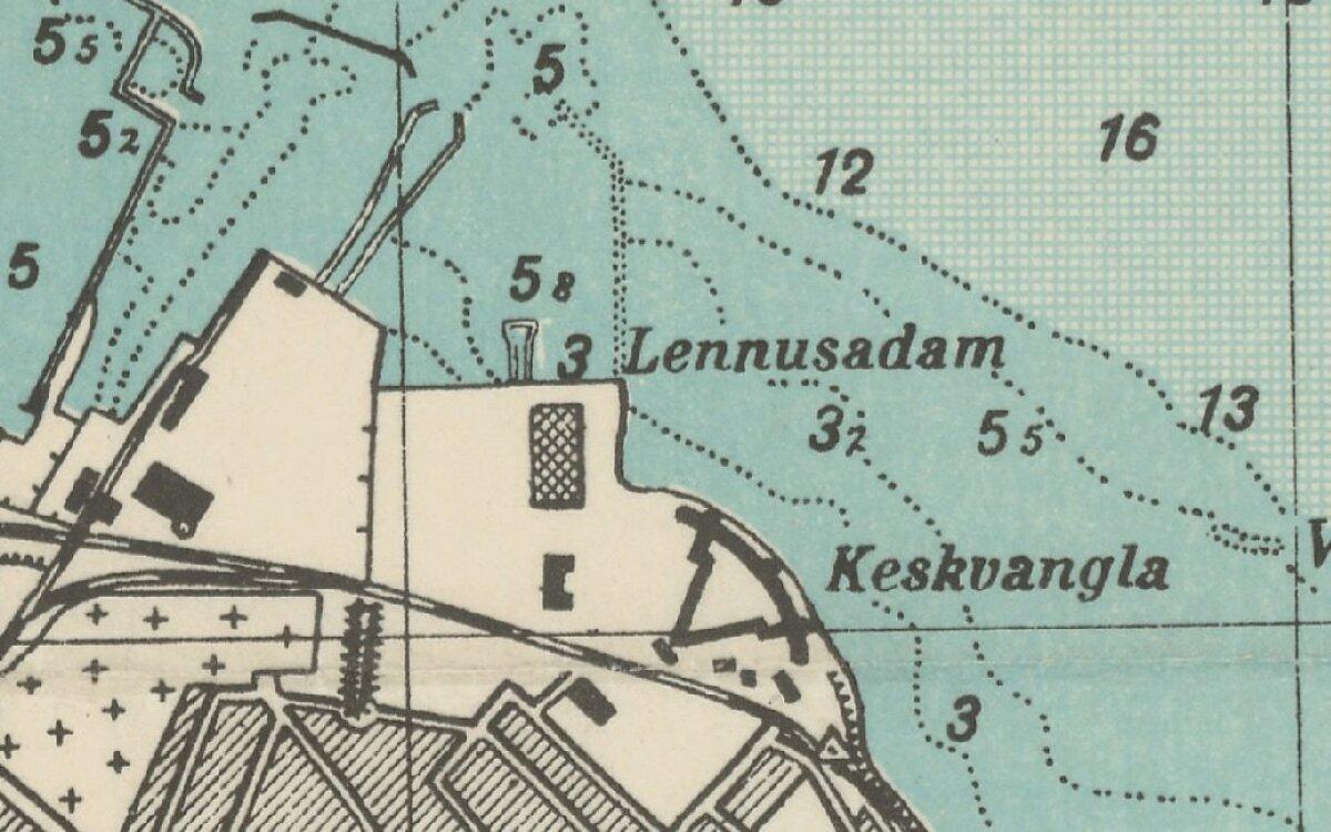 Vesilennukite angaarid rajati Lennusadamasse 1916-1917