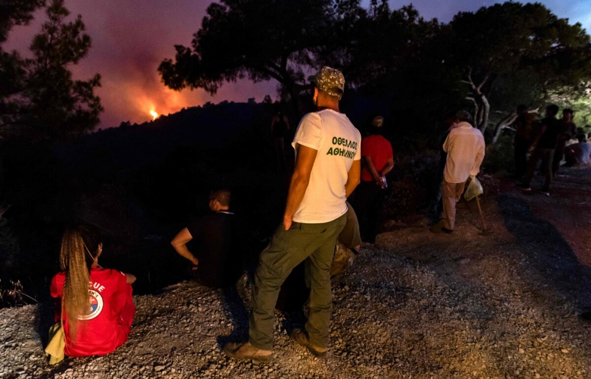 Metsatulekahju Küprosel
