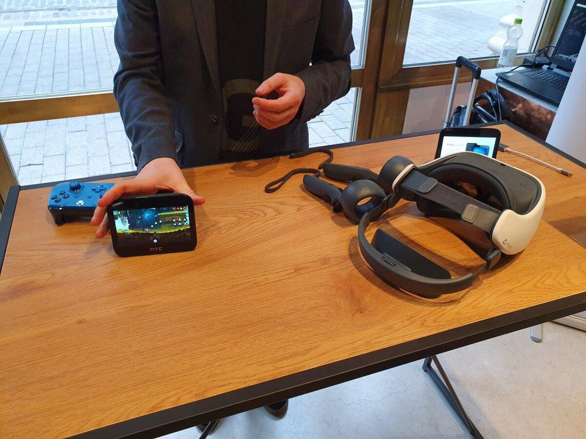 HTC 5G Hub ruuteri puhul on suur rõhk virtuaalreaalsusel