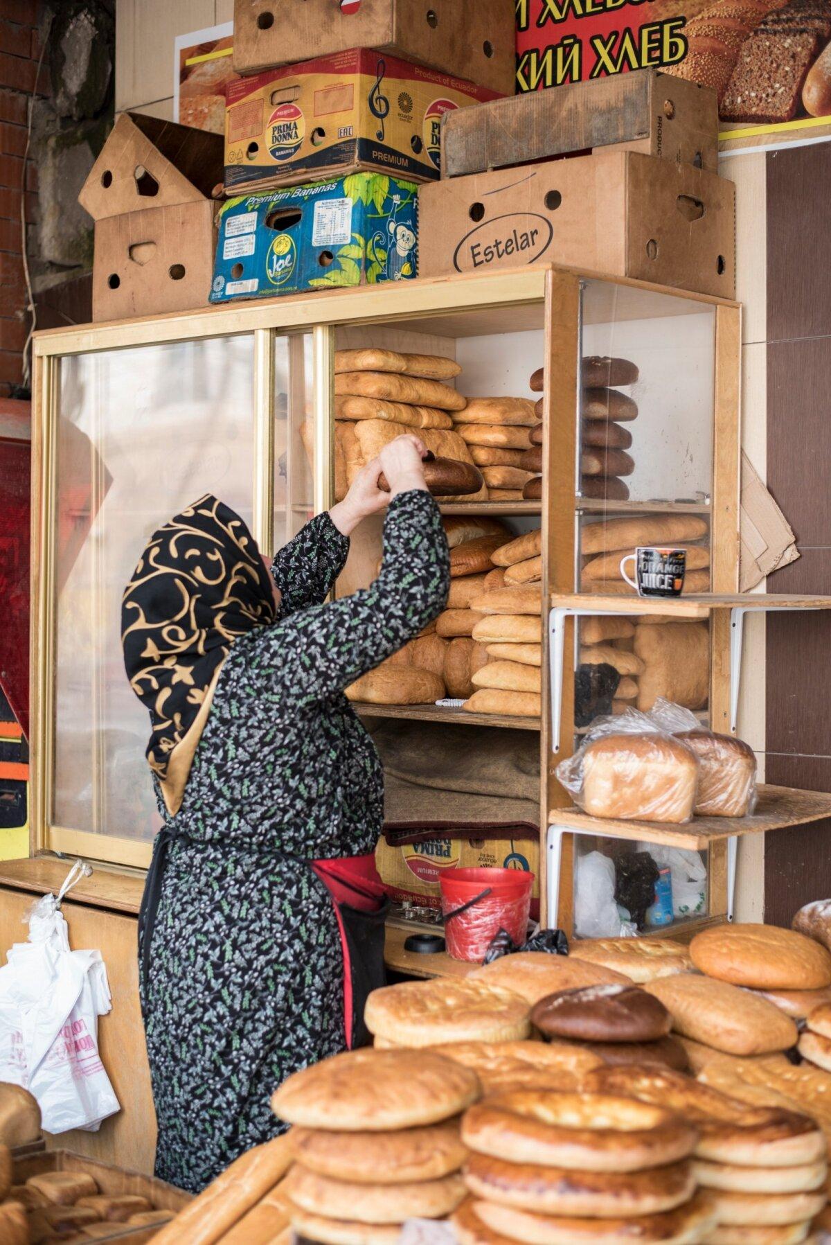 Ahjusooja leiba ja saia müüakse turgudel lahtiselt.