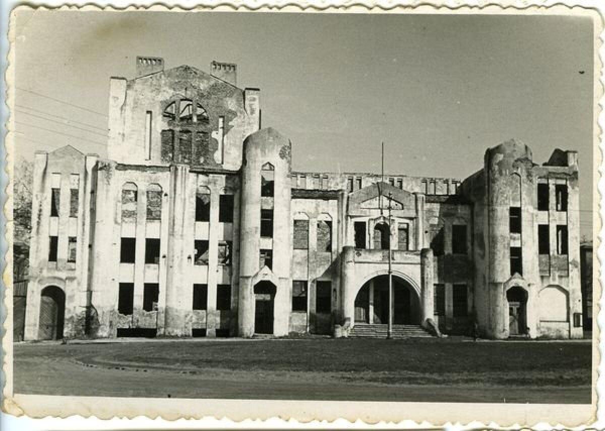 Endla varemed pärast sõda.