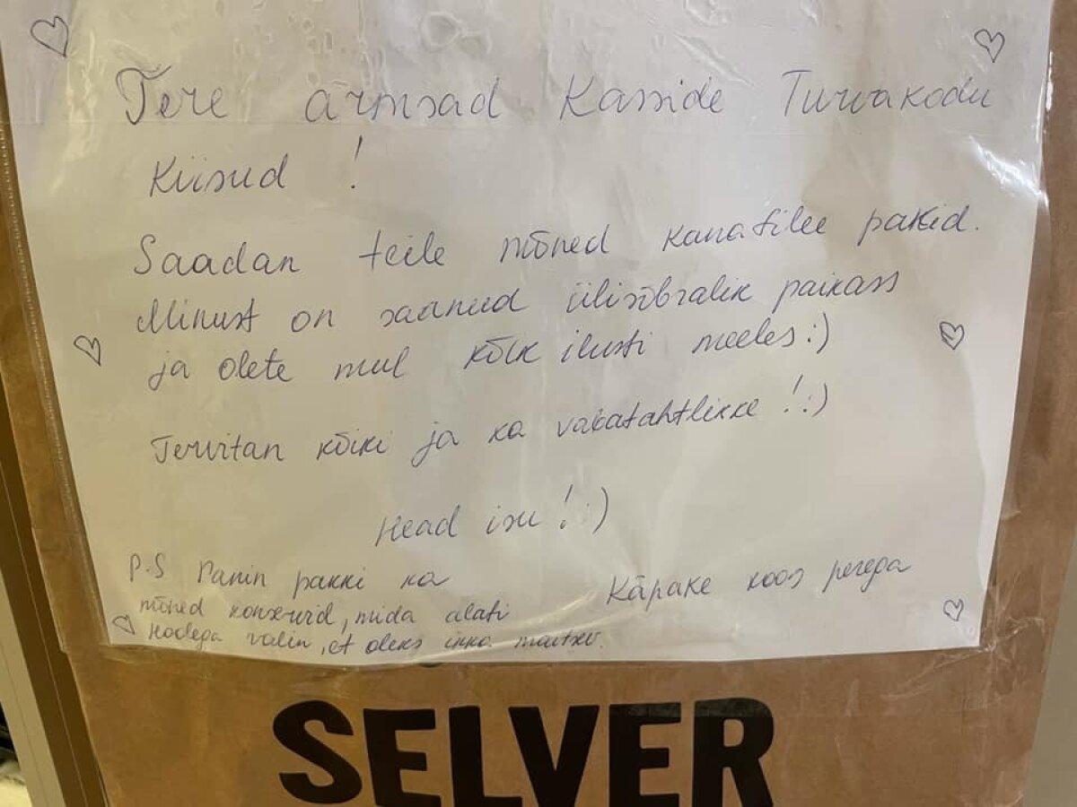 Käpakese saadetud kiri