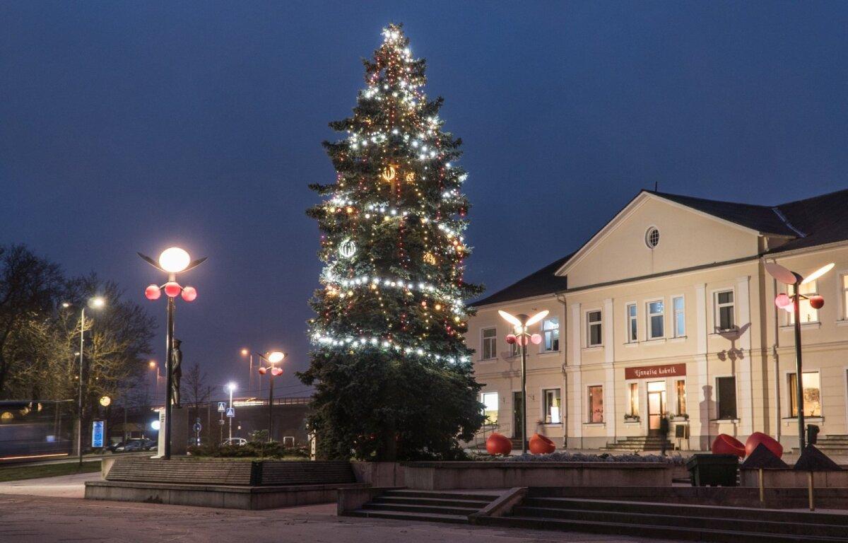 Jõhvi jõulupuu