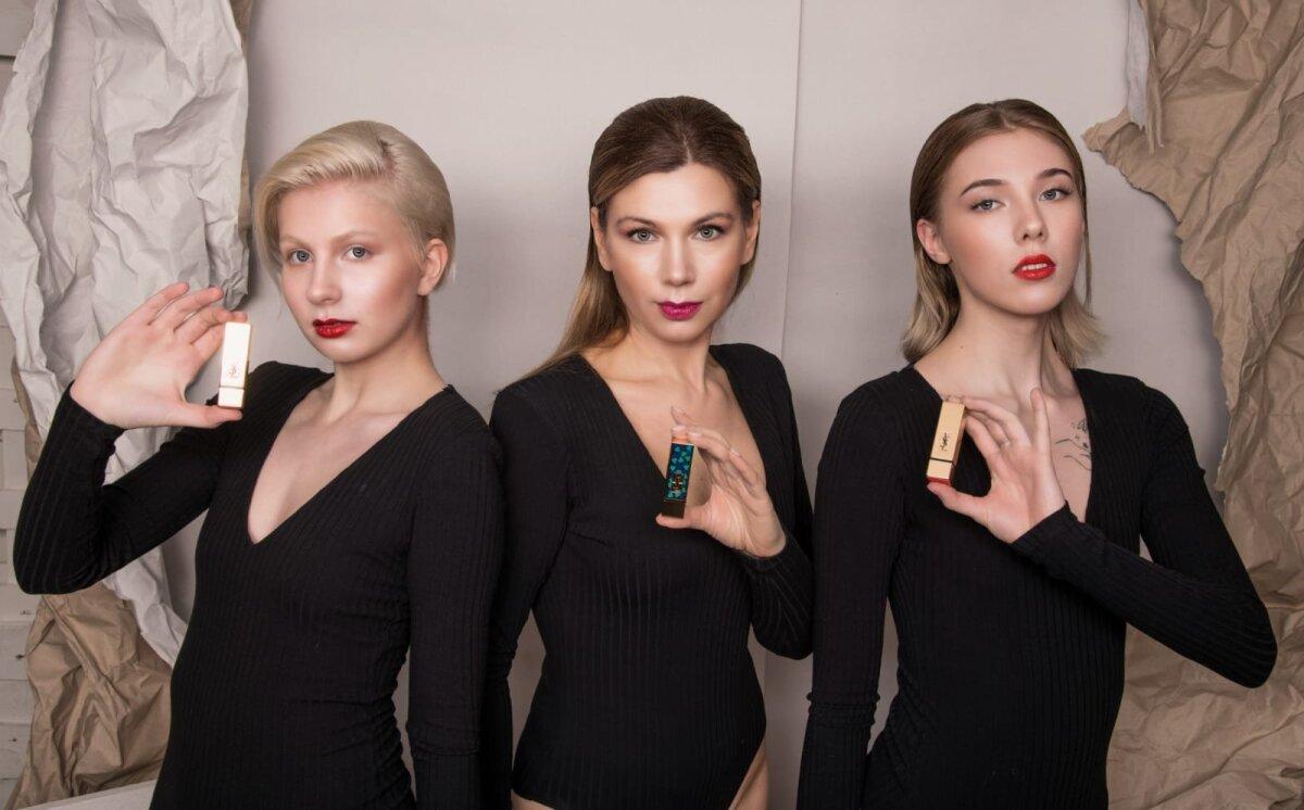 Модели: Александра Даль, Ирэн Чуприяновская, Кристи Сиффер; Hair Style: Jana Sulkovskaja