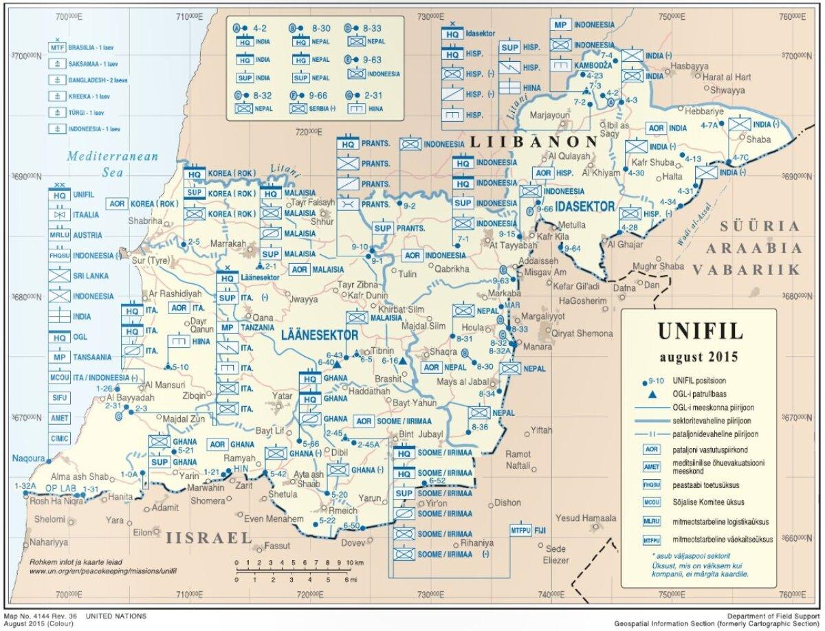 Kaart ajakirjast Sõdur