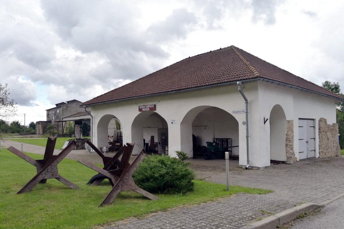 Несколько лет назад старинный амбар в Синимяэ отремонтировали и организовали в нем  музей.