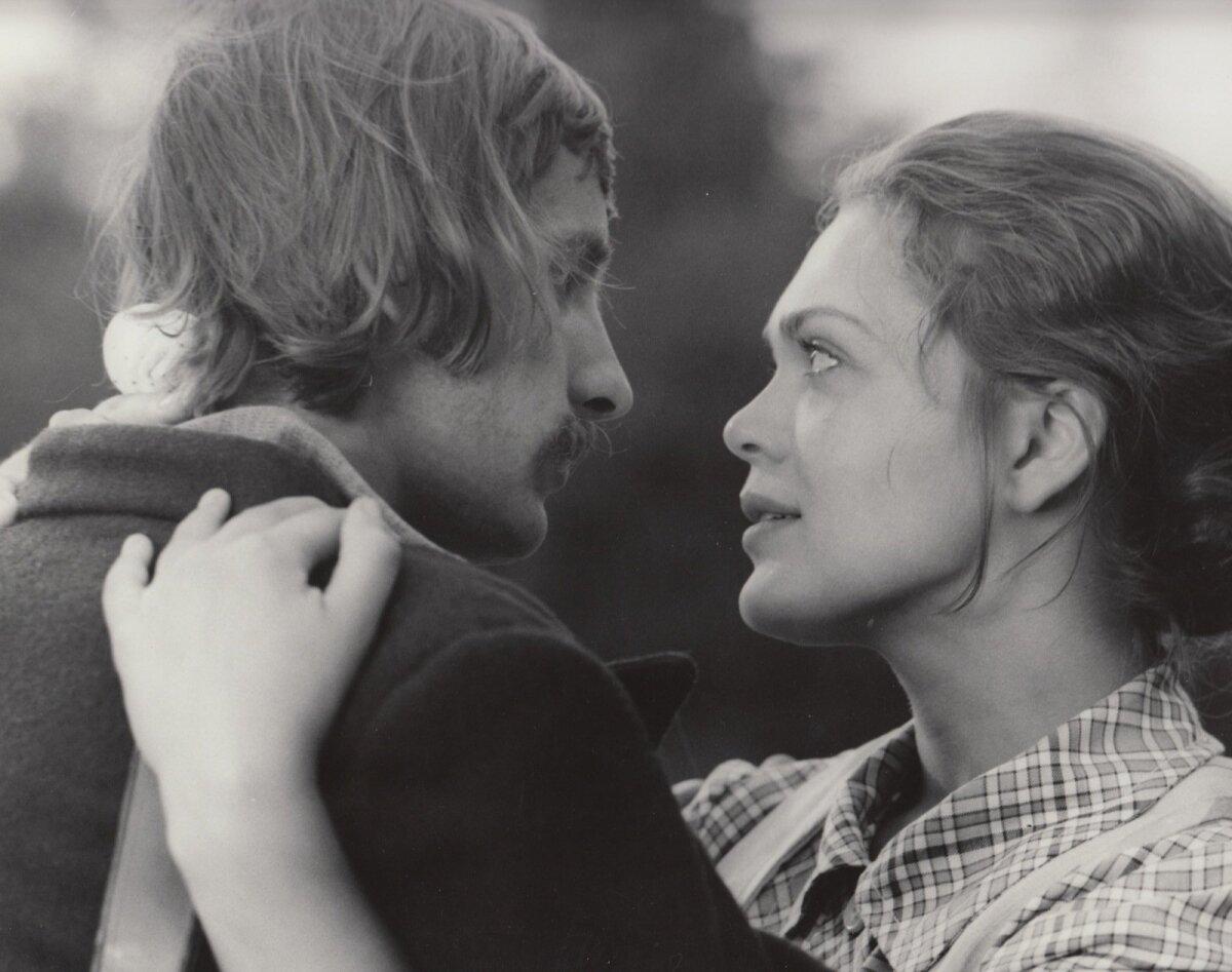 """AKSEL JA MINNA: Lembit Ulfsak ja Elle Kull Leida Laiuse filmis """"Ukuaru"""" (1973)."""