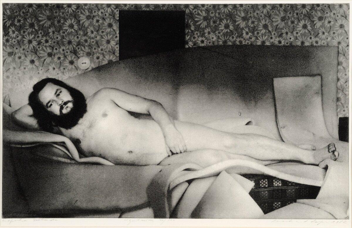 """Autoportree Veenusena"" (1982), Leonhard Lapin"