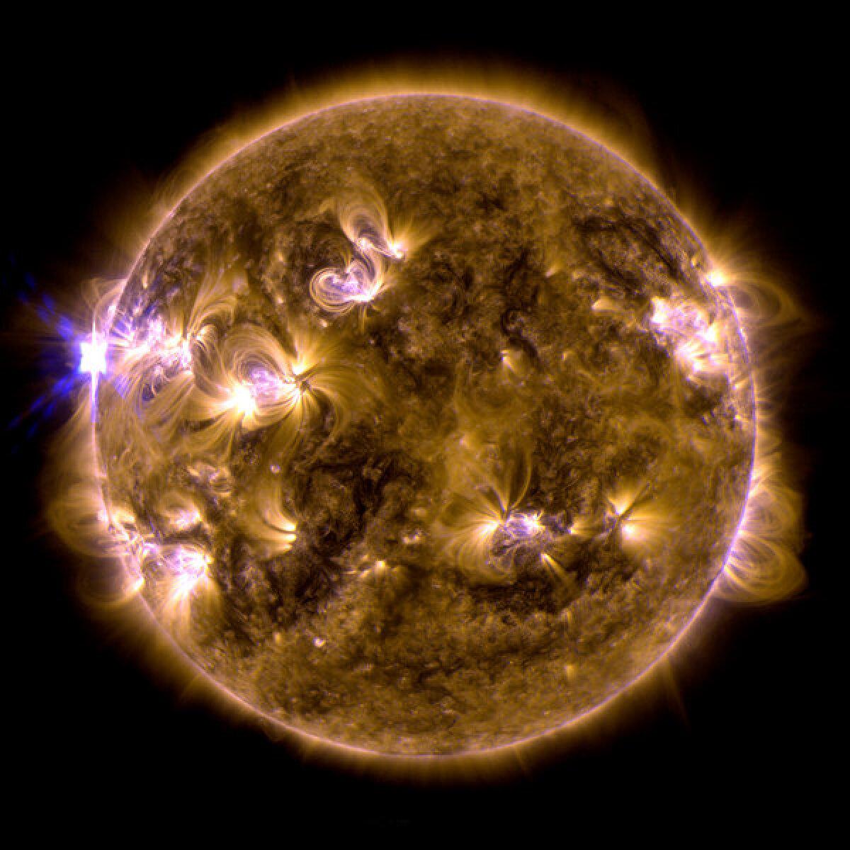Üleeilne pilt Päikesest