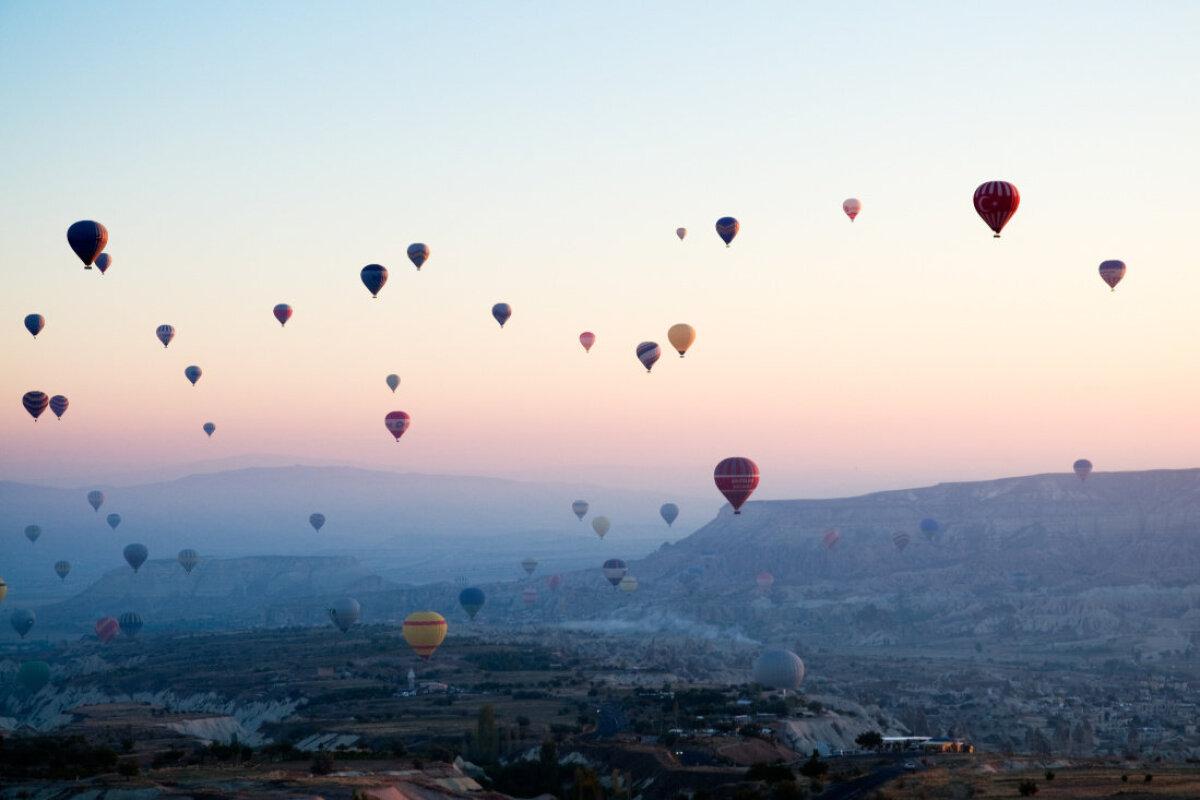 Enne päikesetõusu Kapadookias