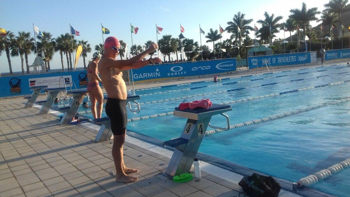 Ujumistrenni peab ultratriatleet tegema regulaarselt.
