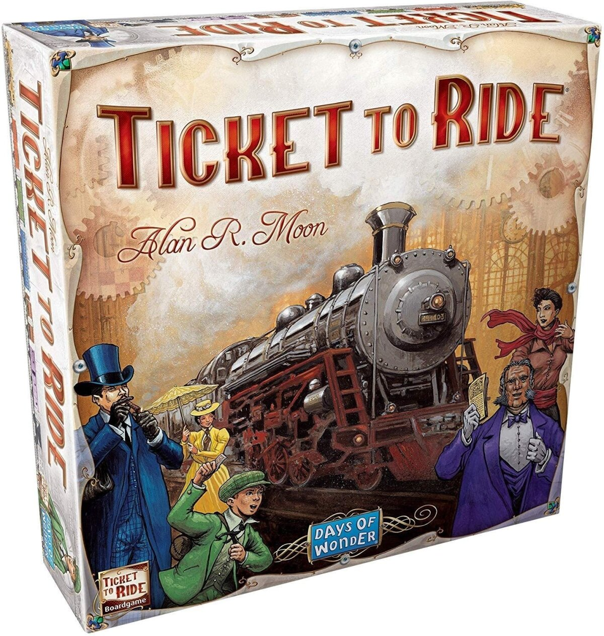 """Lauamäng """"Ticket to Ride""""."""
