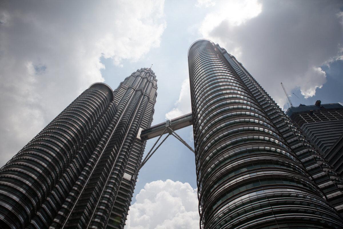 Petronase tornid Kuala Lumpuris