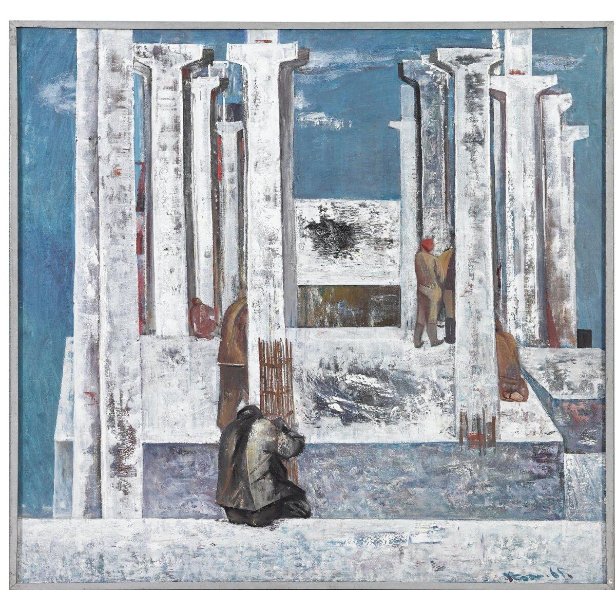 "4. Nikolai Kormašov, ""Raudbetoon"" (1965)."