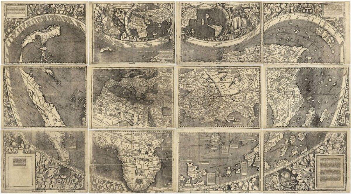 Waldseemülleri kaart