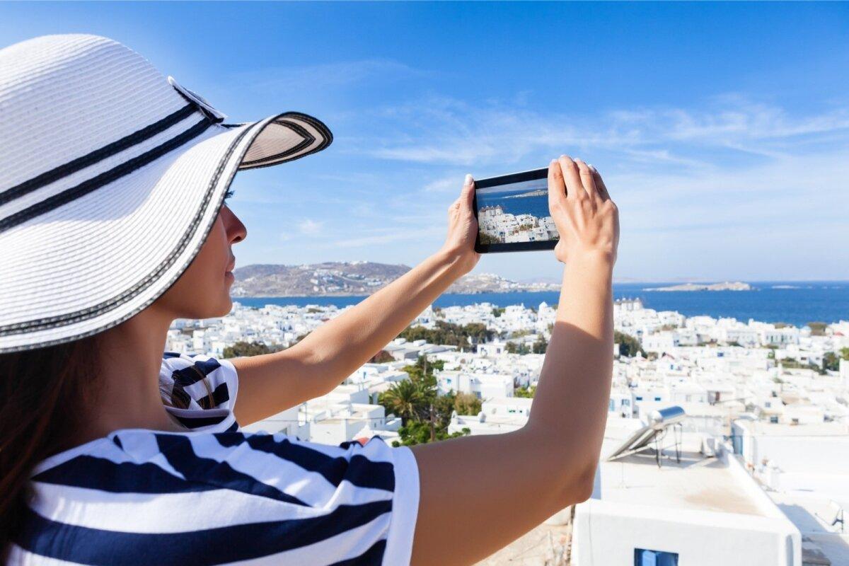 Kreeka saared, näiteks Myknos, pakuvad võimalusi imelisteks reisipiltideks ka algajale reisifotograafile.