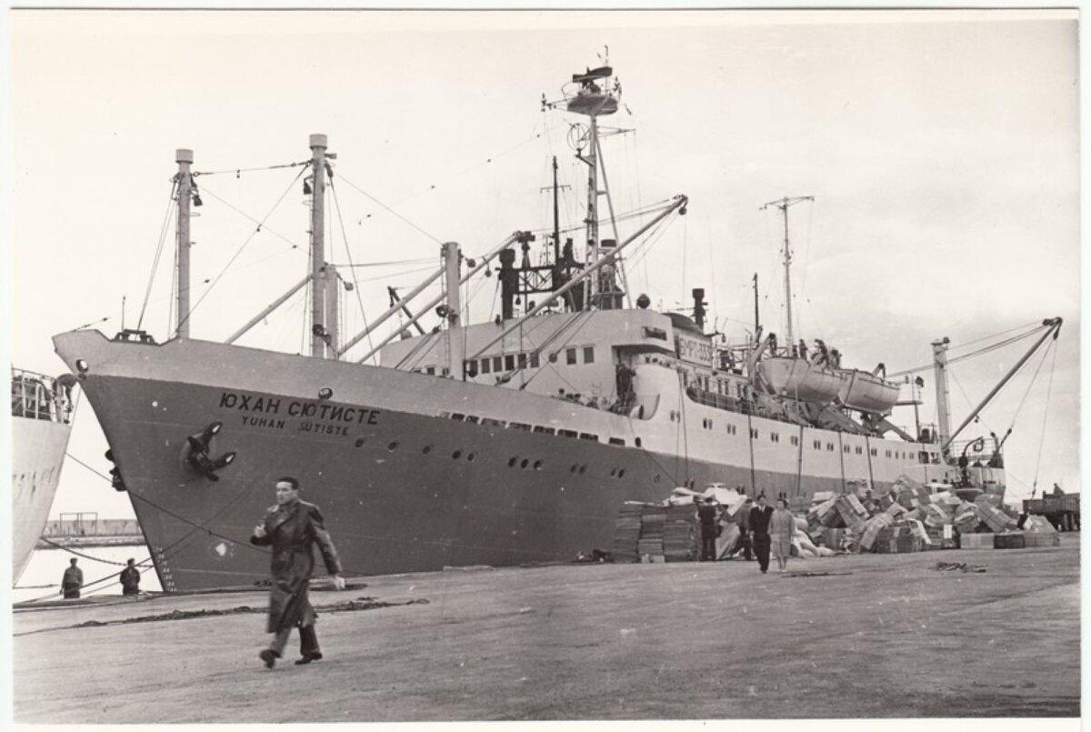 Eesti esimene ookeanipüügilaev Juhan Sütiste valmis 1961 ning lõpetas oma meresõidud 1984. aastal. Eesti Meremuuseumi kogudes on laevalt pärit mitmeid esemeid ja terve kajuti sisustus.