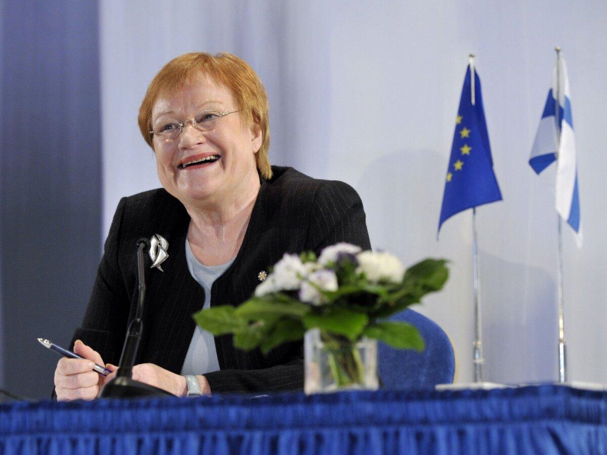 Tarja Halonen oli Soome president 2000-2012