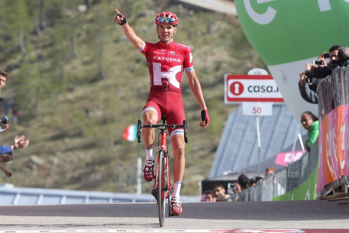 Rein Taaramäe võitis Itaalia velotuuri etapi