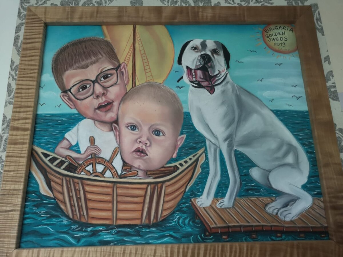 Bulgaaria tänavakunstniku tehtud maal