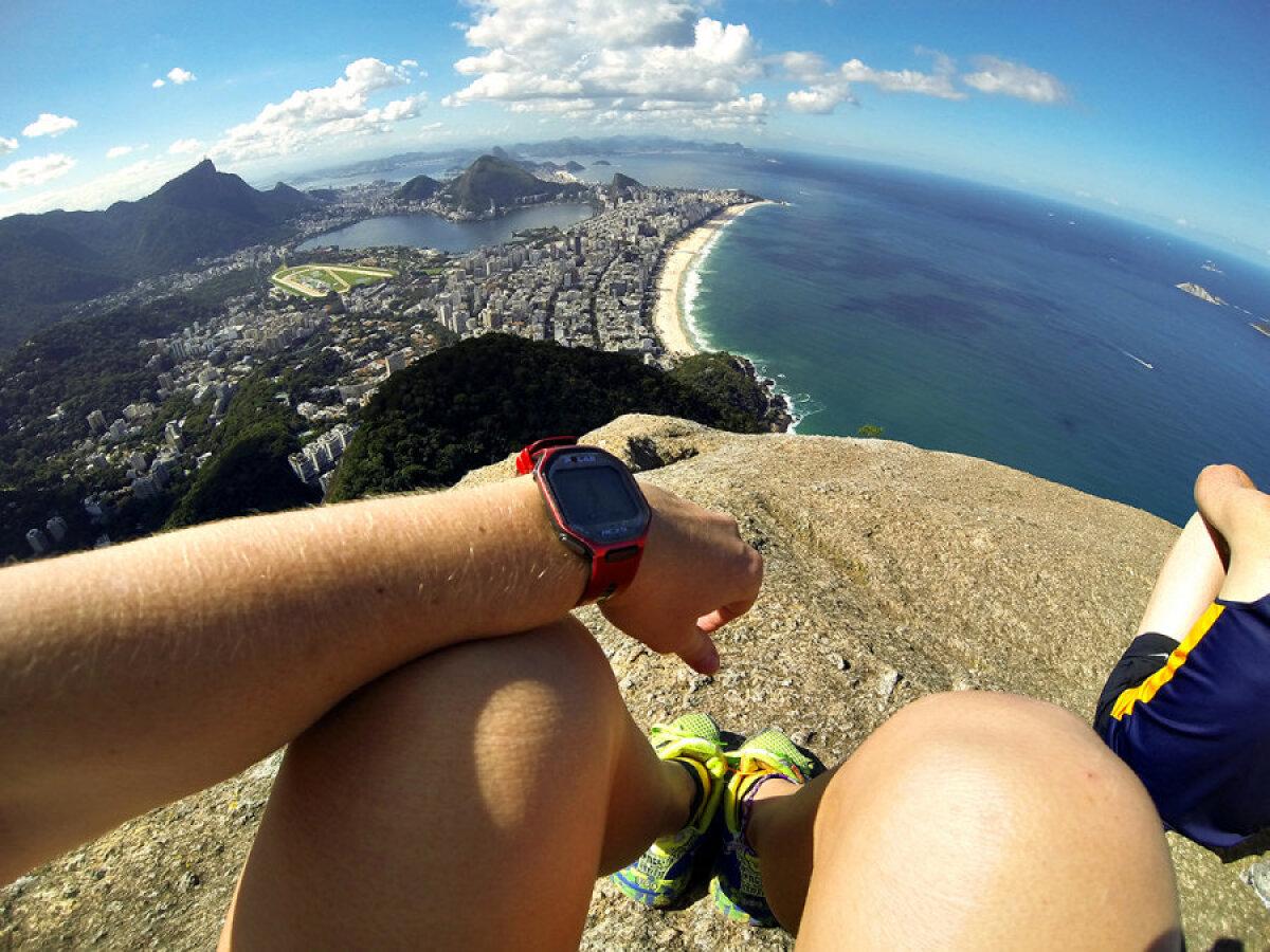 Vaade Dois Irmaose tipust – 533 meetri kõrguselt Riole.