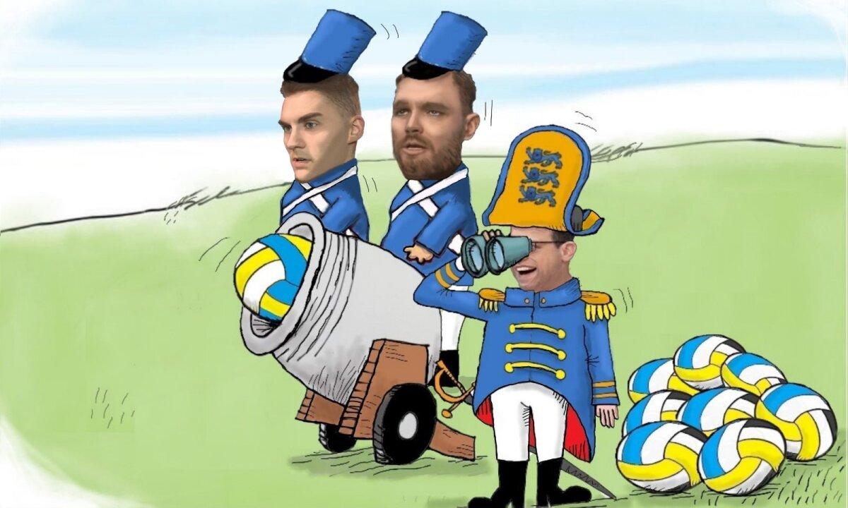 Eesti sai kahurid paukuma