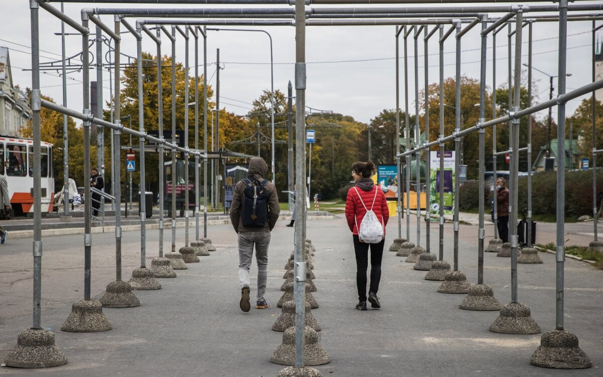 """Pööra! linnakunstifestival (Balti jaam, """"Torupööre"""")"""