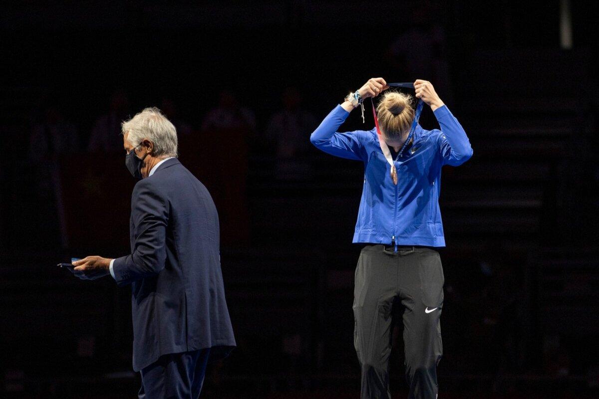 Esimene eestlane, kes endale ise olümpiamedali kaela peab panema.