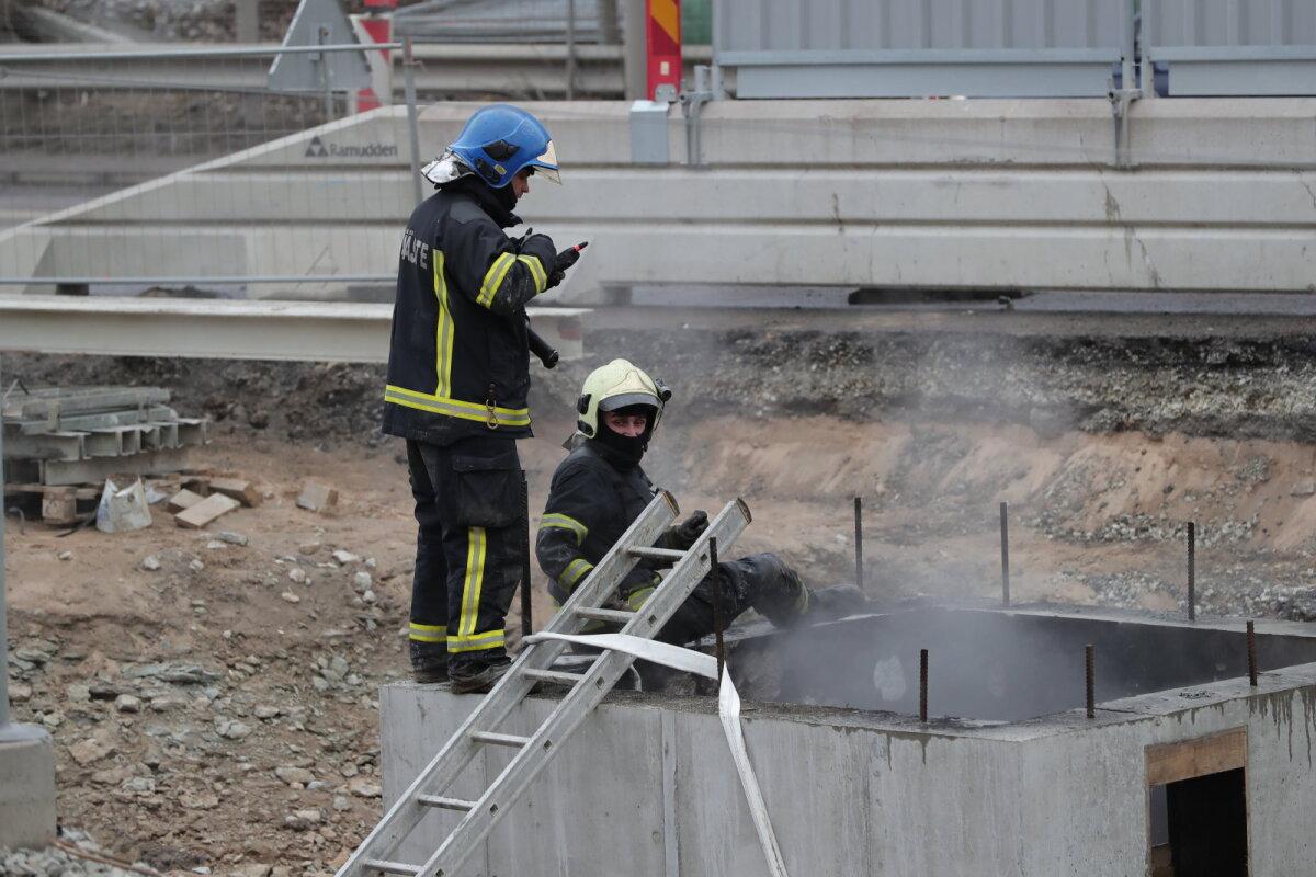Põleng trammitee tunnelis märtsi lõpus.