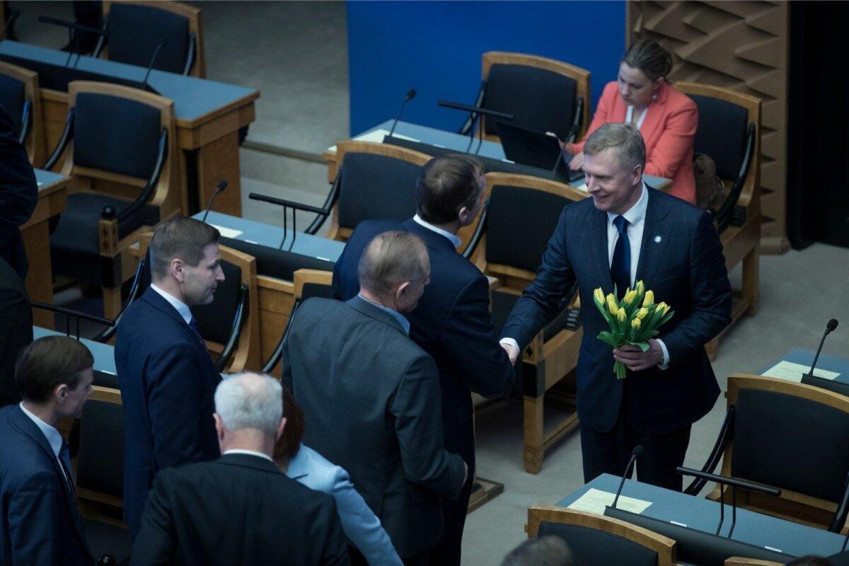 Riigikogu juhatuse valimised. 22.03.2018