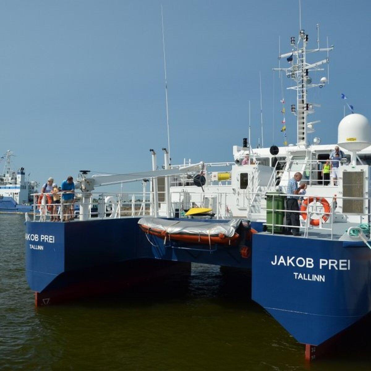 Jakob Prei merepäevadel.