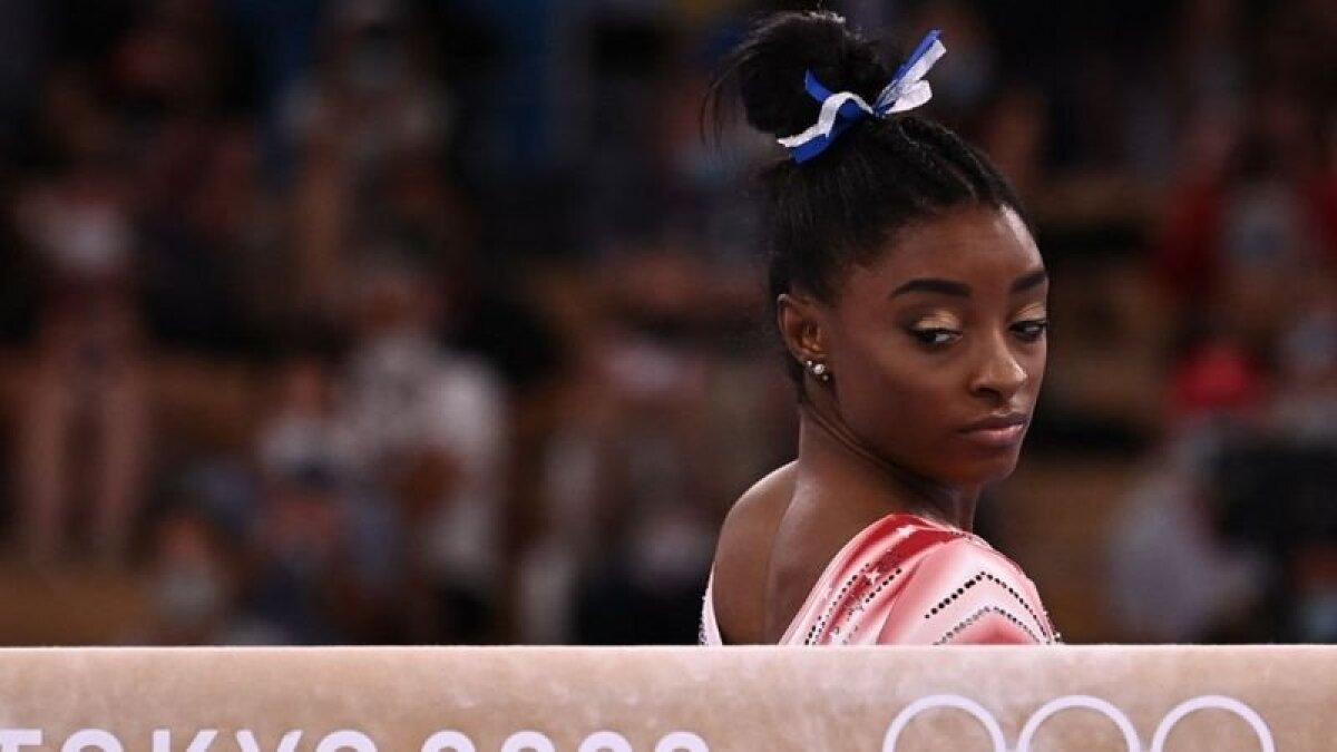 Симона Байлз не выдержала общественного давления, сопровождающего статус главной звезды сборной