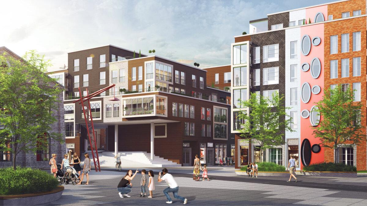 Noblessner saab olema nagu väike Amsterdam oma vaheldusrikaste majafassaadidega.