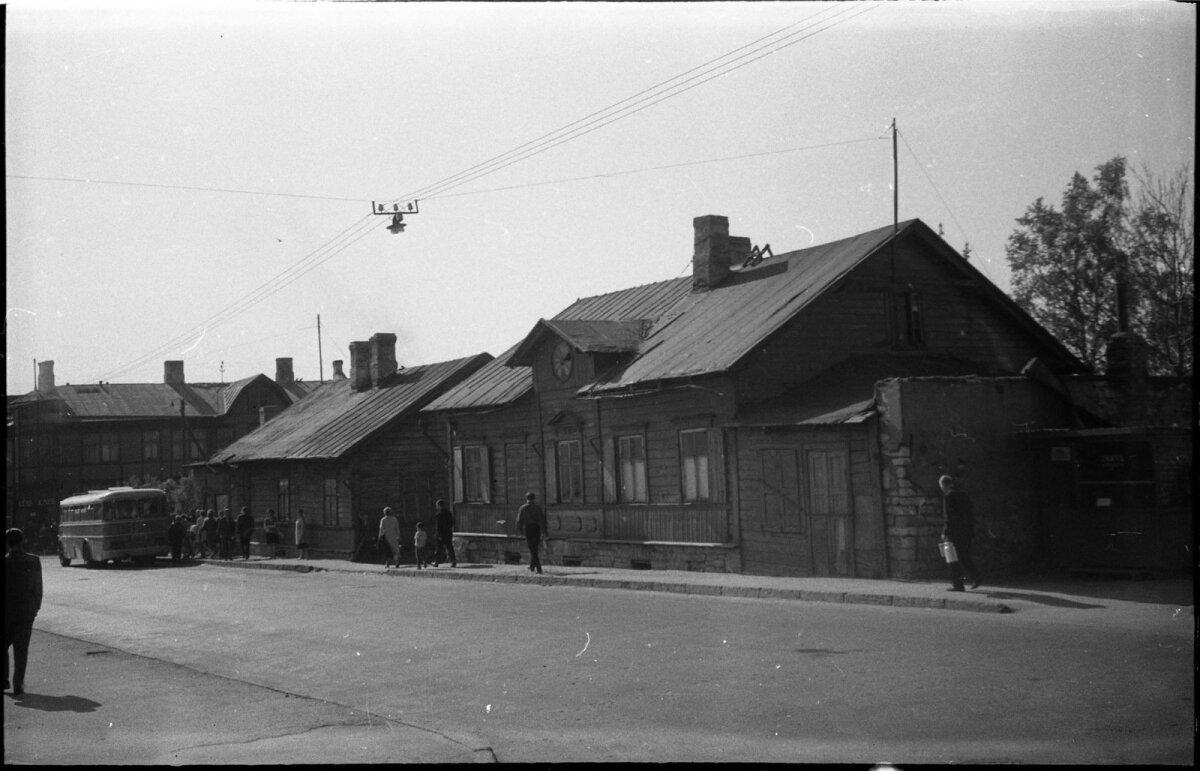 Hooned Endla ja Koidu tänava nurgal, 1968