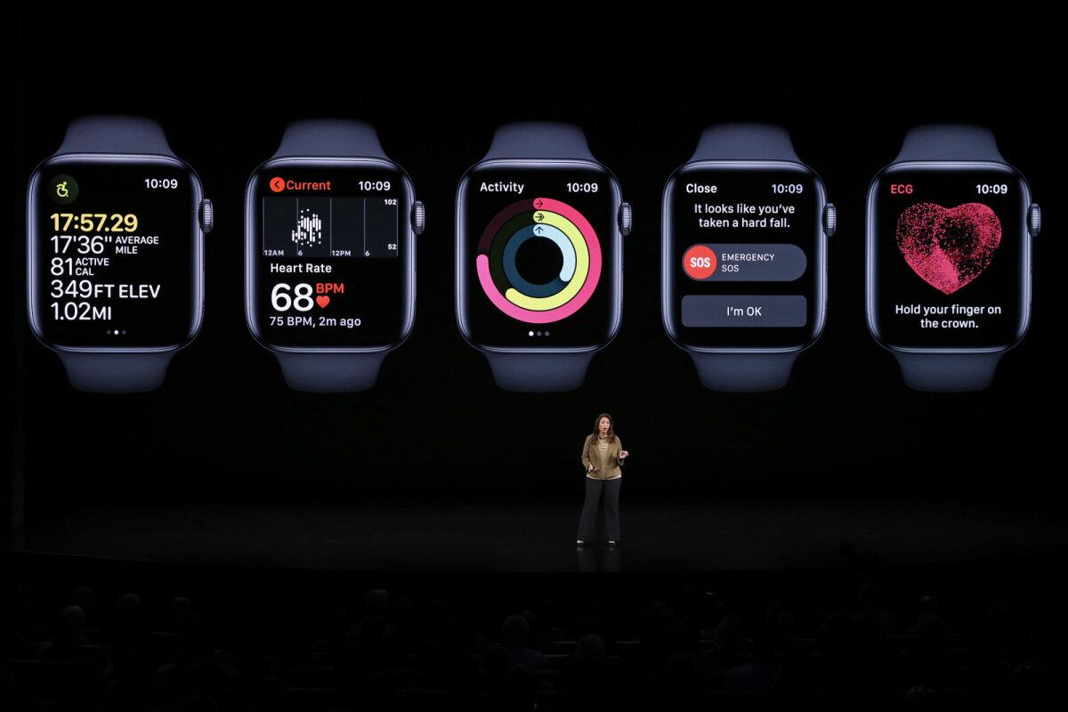 Apple'i uue põlvkonna kell
