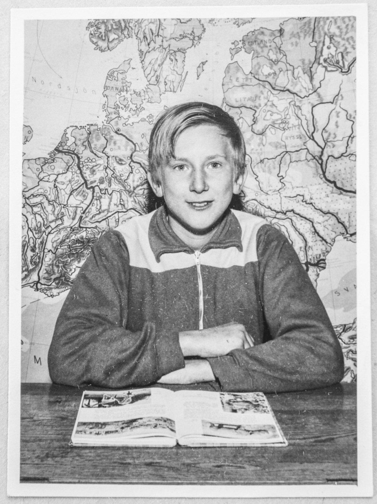 Enn Meri alustas kooliteed Helsingboris.