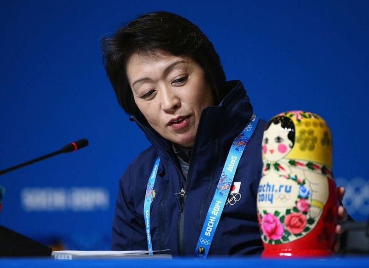 Сэйко Хасимото на Олимпиаде в Сочи