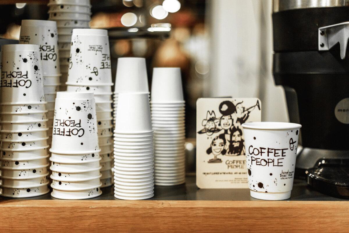 Качественный кофе и кофейные стаканчики