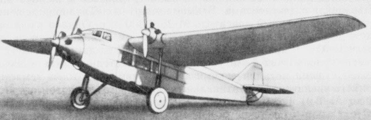 ANT-9 oli kasutusel ka lennufirmas Deruluft.