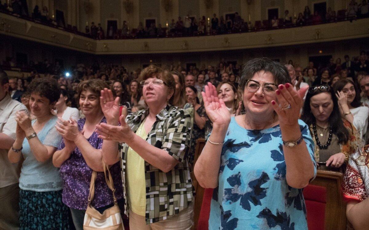 ERSO kontsert võeti vastu ovatsioonidega.