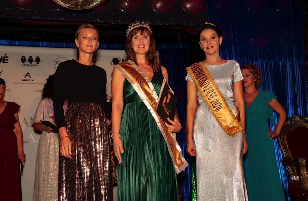 Первая красавица 45+ - Classic Universe Estonia 2021 - Ольга Нигровская