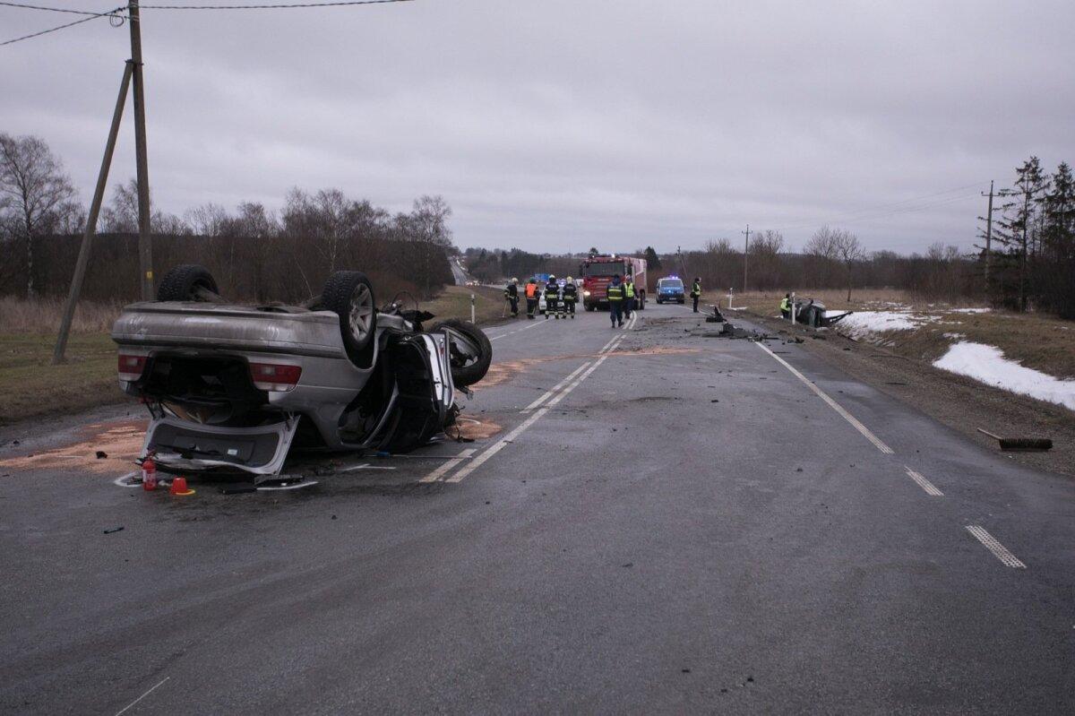 28. jaanuar, Purtse. BMW ja Honda kokkupõrge, milles hukkus üks ja sai vigastada kolm inimest. Nende seas ka kahe ja poole aastane laps.