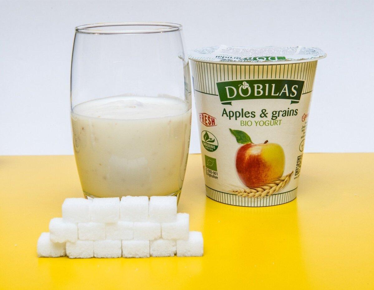 Õuna-teravilja biojogurt (Dobilas)