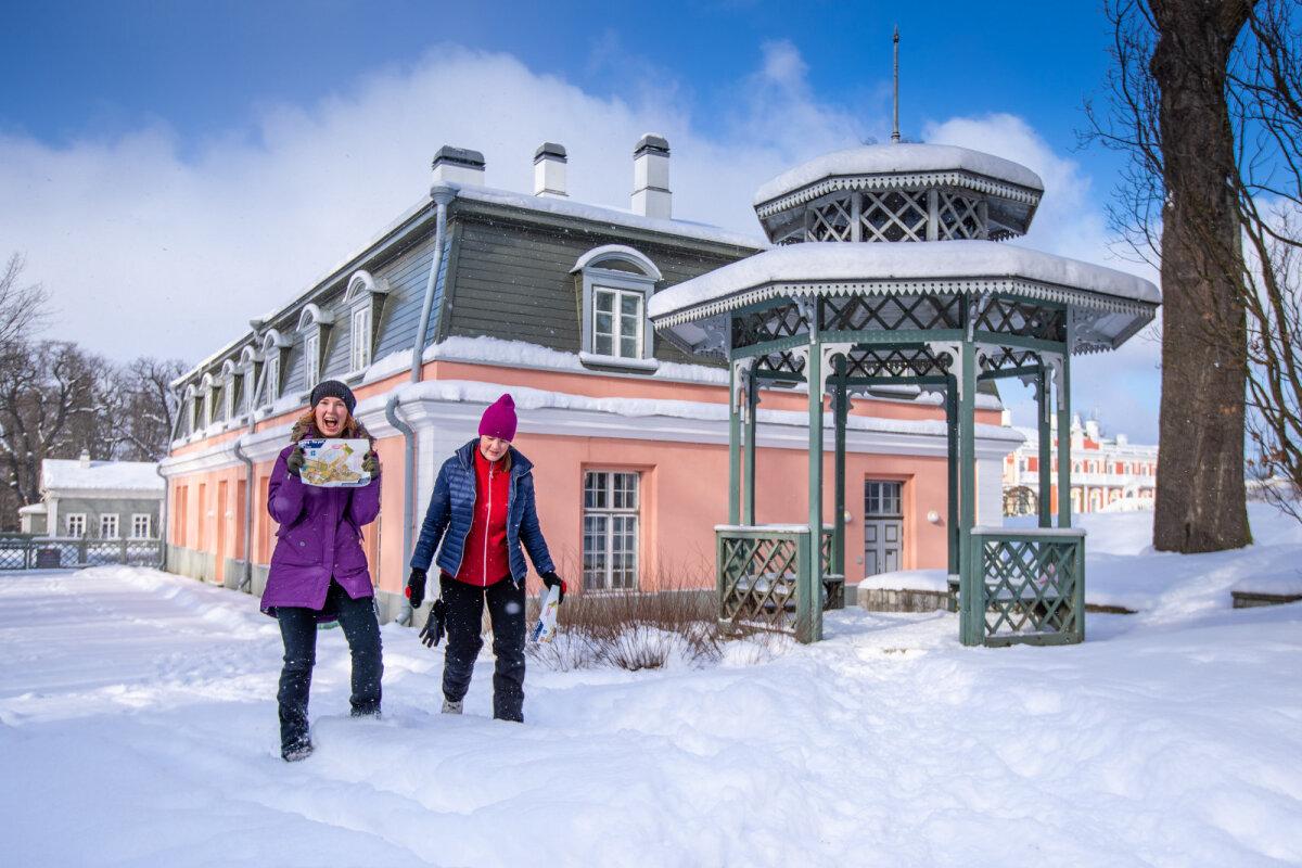 Orienteeruda saab ka talvel - 24. veebruaril Kadrioru pargis toimunud päevak pakkus osalejatele ehedat rõõmu.