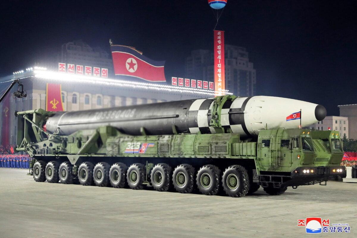 Kontinentidevaheline rakett oktoobris toimunud paraadil